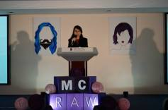 Head Conference Coordinator, Ms. Megna Kalvani from the School of Media & Communication introduced the theme and objective of #MCRAW2016.